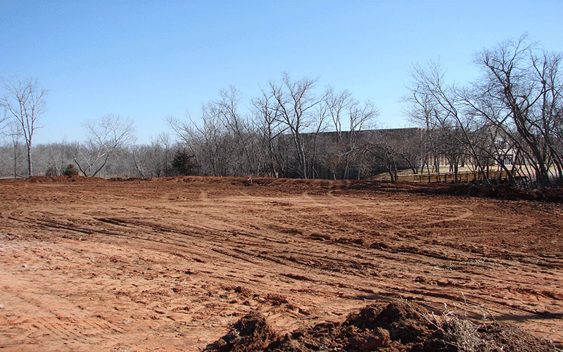 this is a picture of land that has already been cleared. it illustrates what we can do in st marys county and southern maryland